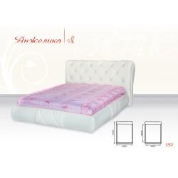 """Кровать Анжелика 1,6 """"Яспис"""""""