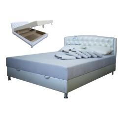 "Кровать Престиж белая 1,6х2,0  ""Середа"""