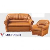 """Комплект Бостон Люкс 211 (нераскл. кресла) """"Вика"""""""