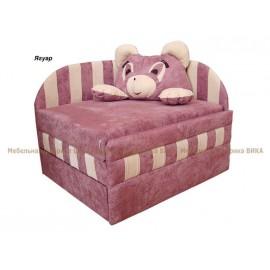 """Детский диван Панда без подушки """"Вика"""""""