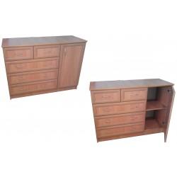 """Комод 1,2 с дверью """"Формат мебель"""""""