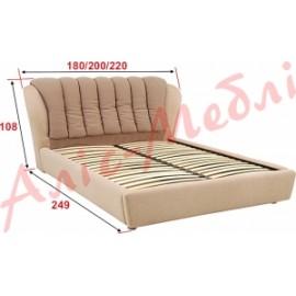 """Кровать Олимпия 140 """"Алис-Мебель"""""""