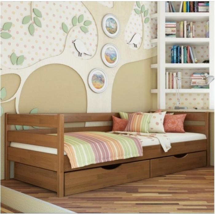 """Кровать Нота 102 80x200 щит  """"Эстелла"""""""