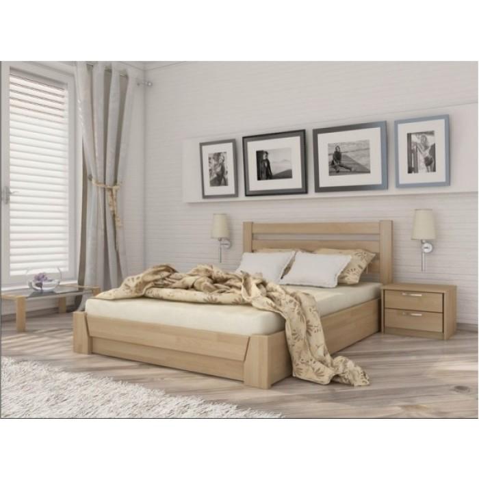 """Кровать Селена Аури подъем. мех. 120x190 щит  """"Эстелла"""""""