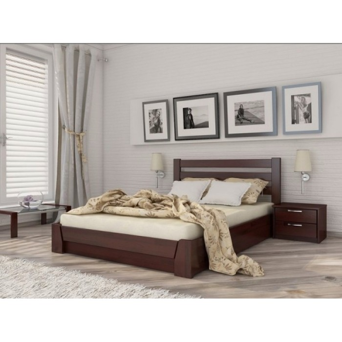 """Кровать Селена Аури подъем. мех. 140x190 щит  """"Эстелла"""""""