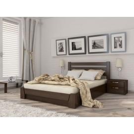 """Кровать Селена подъем. мех. 120x200 щит  """"Эстелла"""""""