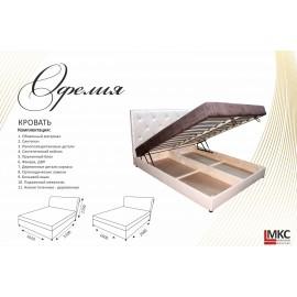 """Кровать Офелия-1 1,8 """"МКС"""""""