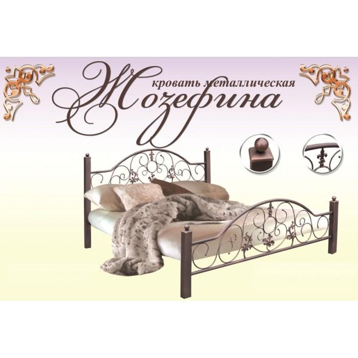 "Кровать Жозефина 140х200 ""Металл-Дизайн"""