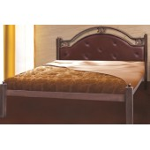 """Кровать Эсмеральда 140х190 """"Металл-Дизайн"""""""