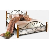 """Кровать Джоконда на деревянных ножках 180х200 """"Металл-Дизайн"""""""