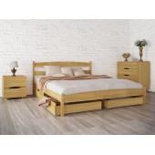 """Кровать Лика без изножья с ящиками 140х190 """"Олимп"""""""