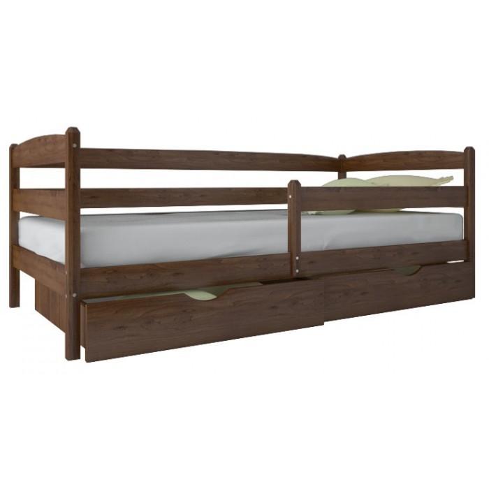 """Кровать Марио Люкс с ящиками 80х200 """"Олимп"""""""
