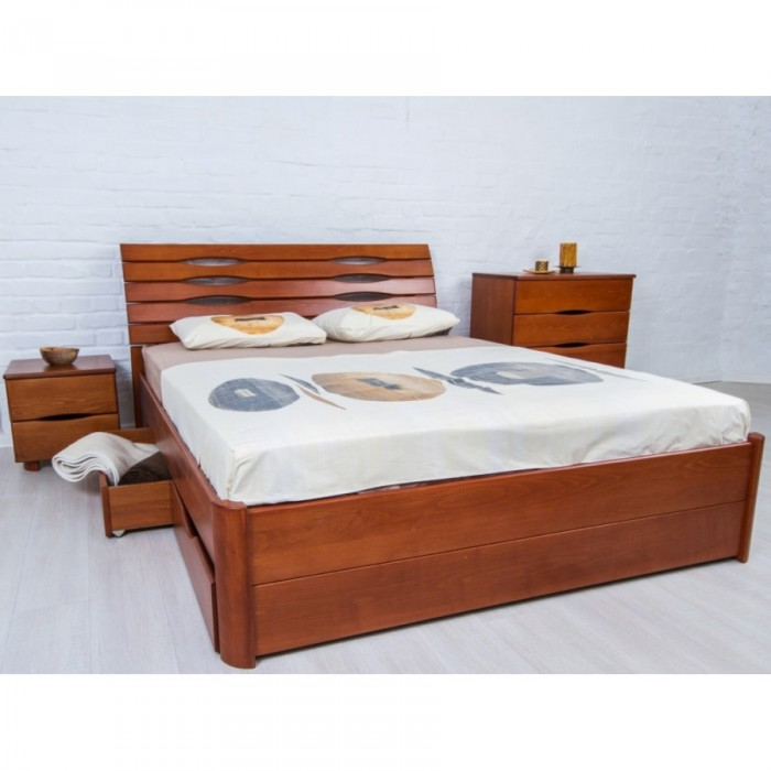 """Кровать Марита Люкс с ящиками 160х200 """"Олимп"""""""