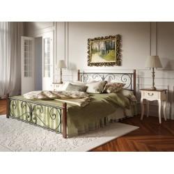 """Кровать Крокус на деревянных ногах 120*200 """"Tenero"""""""