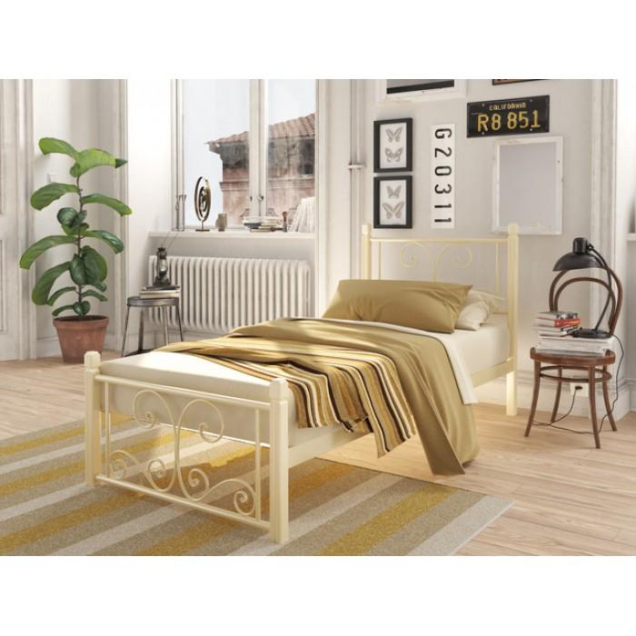 """Кровать Нарцис мини на деревянных ногах 90*190 """"Tenero"""""""
