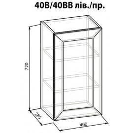 """Навесной шкаф 40 ВВ Роял """"Мебель Сервис"""""""