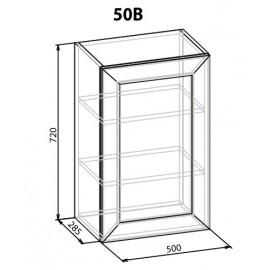 """Навесной шкаф 50 верх Роял """"Мебель Сервис"""""""