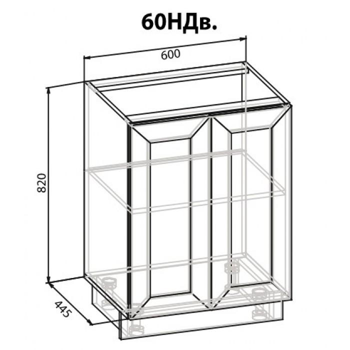 "Тумба 60 низ Роял ""Мебель Сервис"""