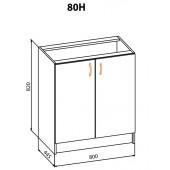 "Тумба 80НД Корона ""Мебель Сервис"""