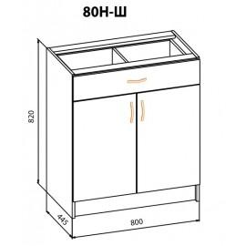 "Тумба 80НШ Корона ""Мебель Сервис"""