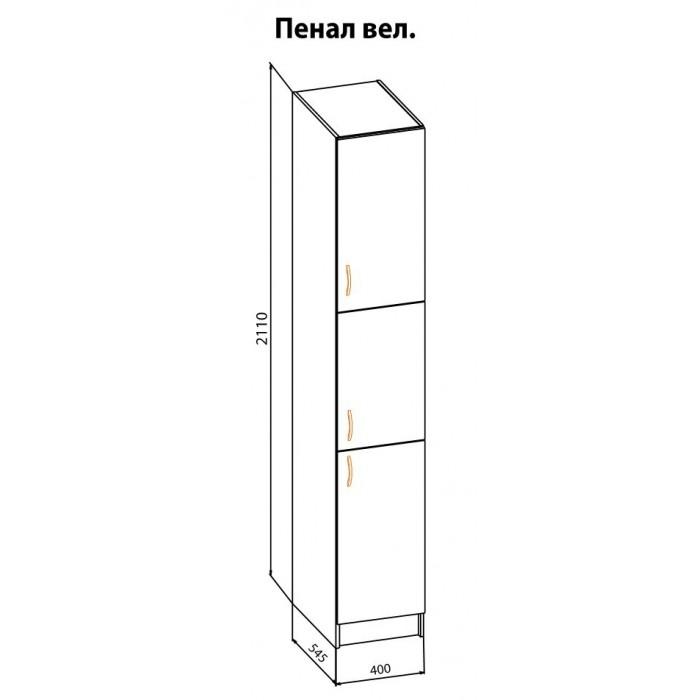"""Пенал Б 40 Оля """"Мебель Сервис"""""""