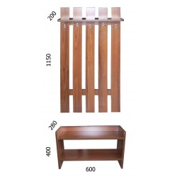 """Прихожая Забор М """"Формат мебель"""""""