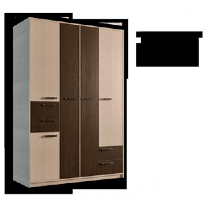 "Шкаф 5Д4Ш Клеопатра ""Феникс Мебель"""