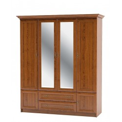 "Шкаф 4Д2Ш Даллас ""Мебель Сервис"""