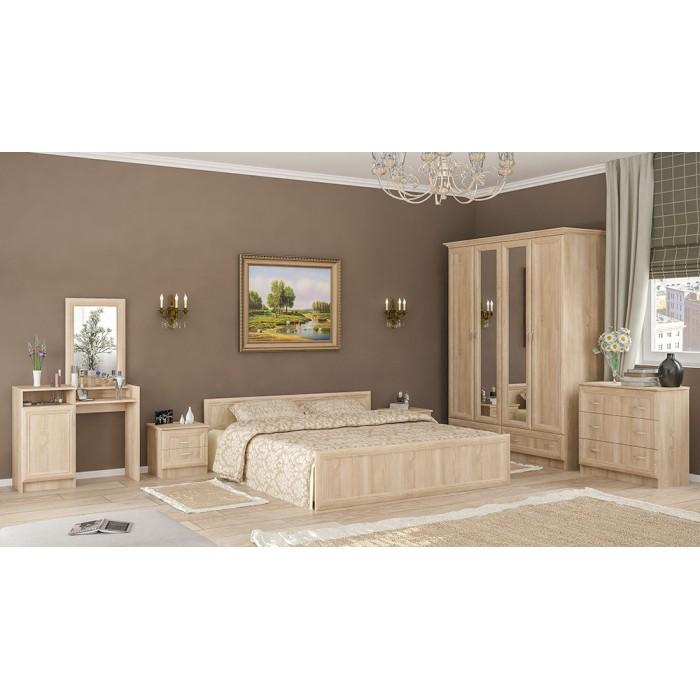 "Спальня Соната 4Д ""Мебель Сервис"""
