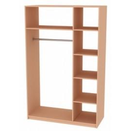 """Богема шкаф 3Д  белый глянец """"Миро Марк"""""""