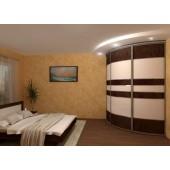 Угловой шкаф купе - экономия места в спальни
