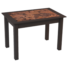 """Стол обеденный Q1-02 (венге магия)  """"Феникс Мебель"""""""